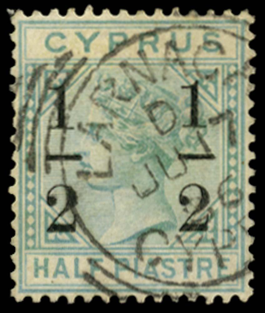 CYPRUS 1886  SG28 Used