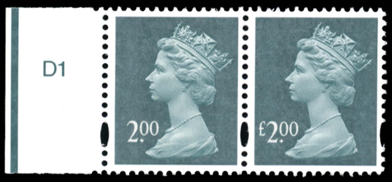GB 2003  SGY1747a Mint - Missing