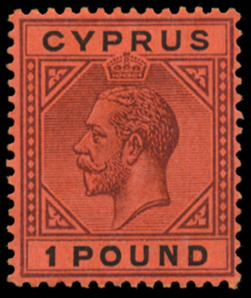 CYPRUS 1921  SG101 Mint