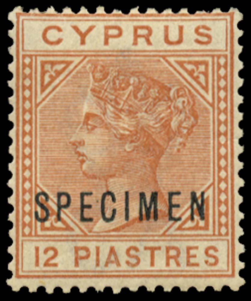 CYPRUS 1882  SG22s Specimen