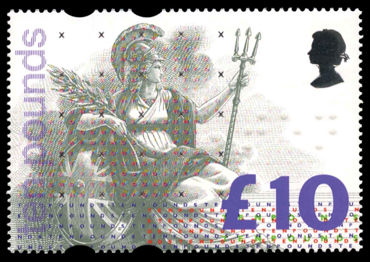 GB 1993  SG1658c Pl.2A Mint