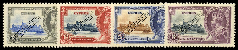 CYPRUS 1935  SG144s/7s Specimen