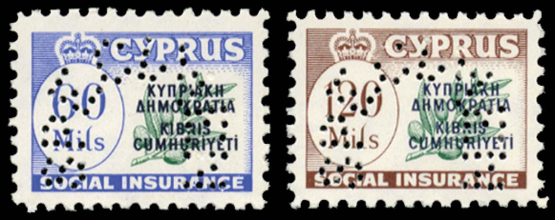 CYPRUS 1960  SG. Revenue