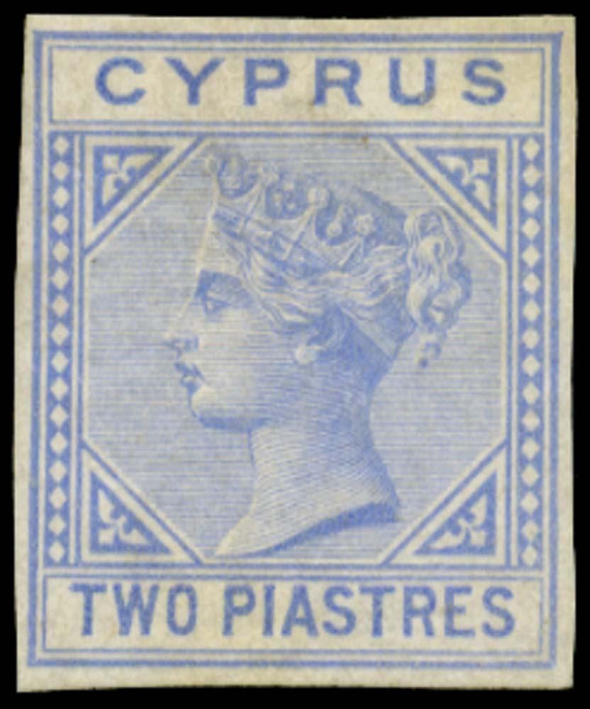 CYPRUS 1881  SG13 Proof