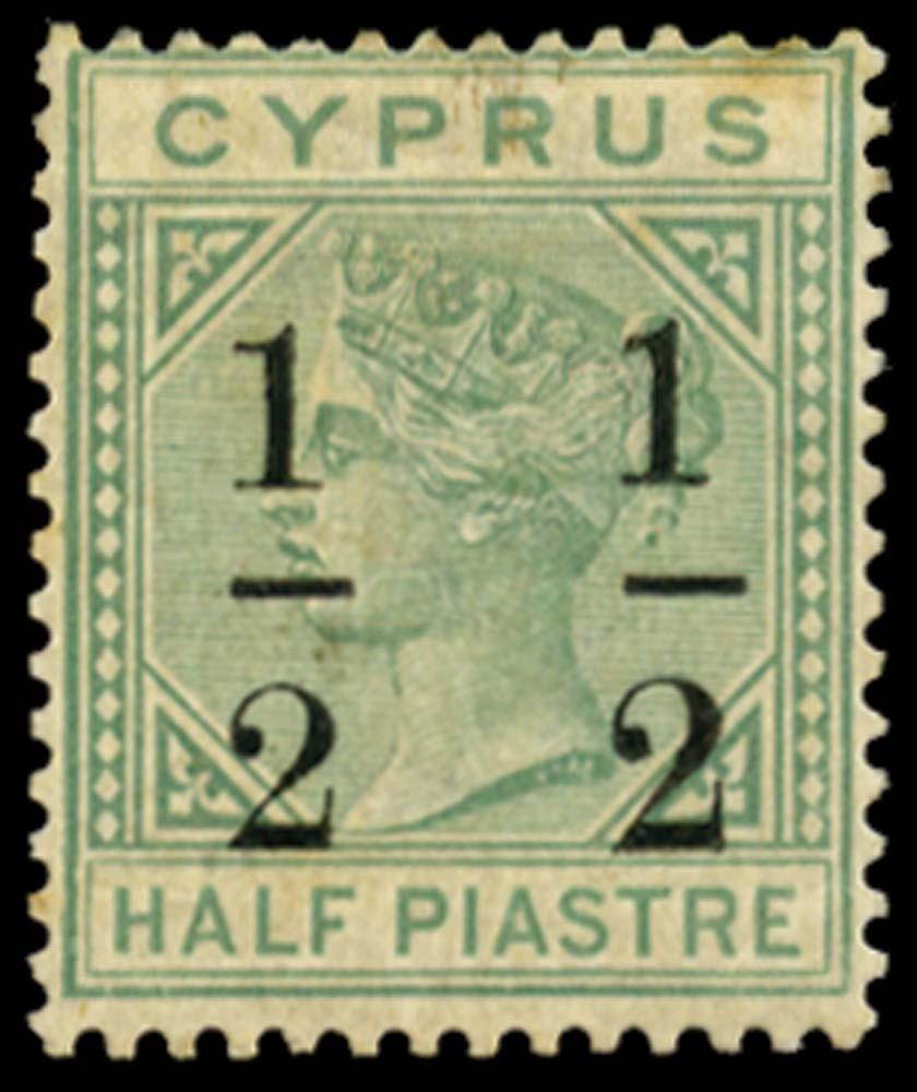 CYPRUS 1886  SG27a Mint