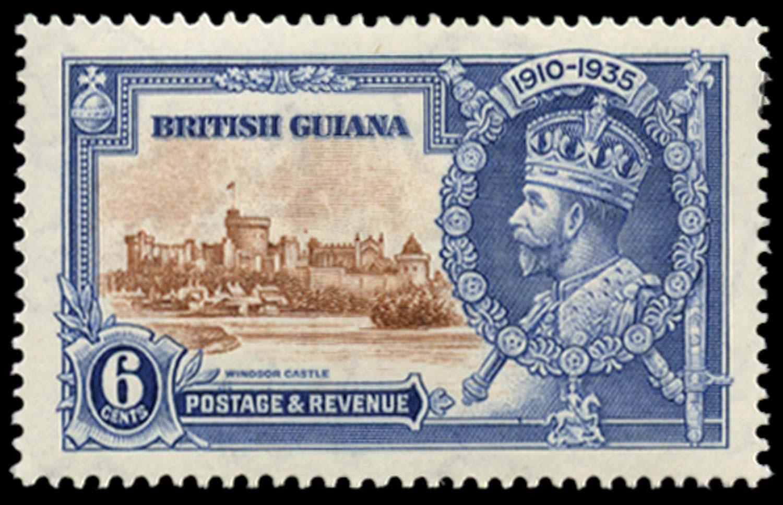 BRITISH GUIANA 1935  SG302g Mint