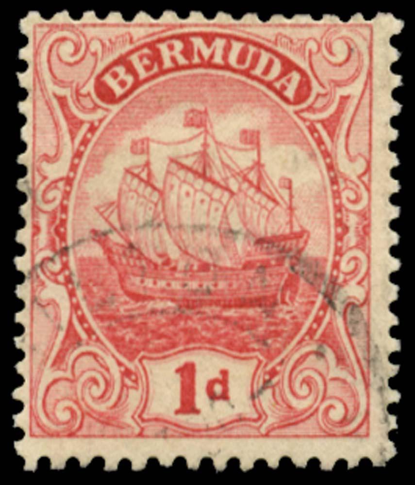 BERMUDA 1910-25  SG46x Used