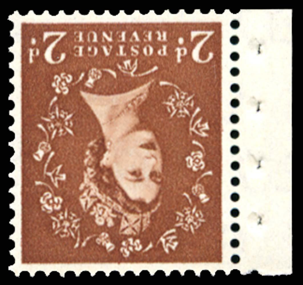 GB 1961  SG673wi Mint - Wmk. Inverted