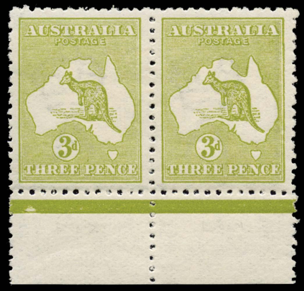 AUSTRALIA 1913  SG5/b Mint