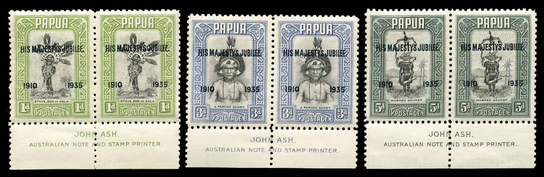 PAPUA 1935  SG150a/53a Mint