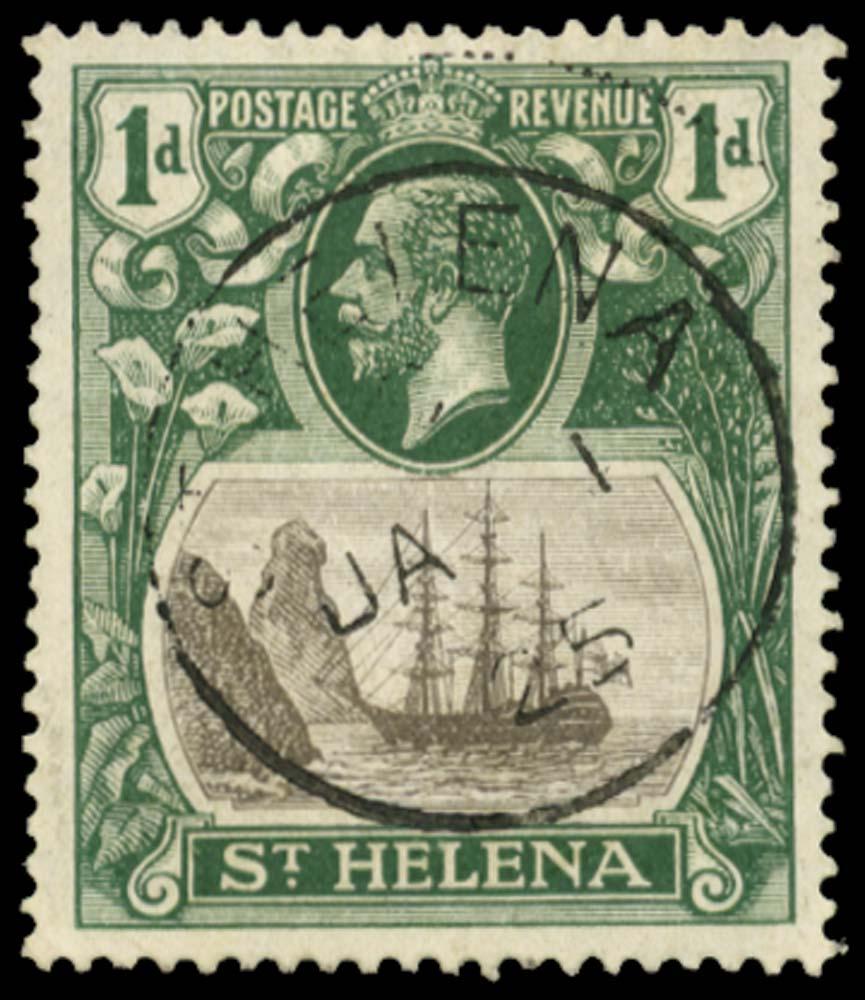 ST HELENA 1922-37  SG98b Used