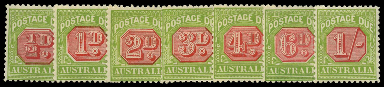 AUSTRALIA 1931  SGD105/11 Postage Due