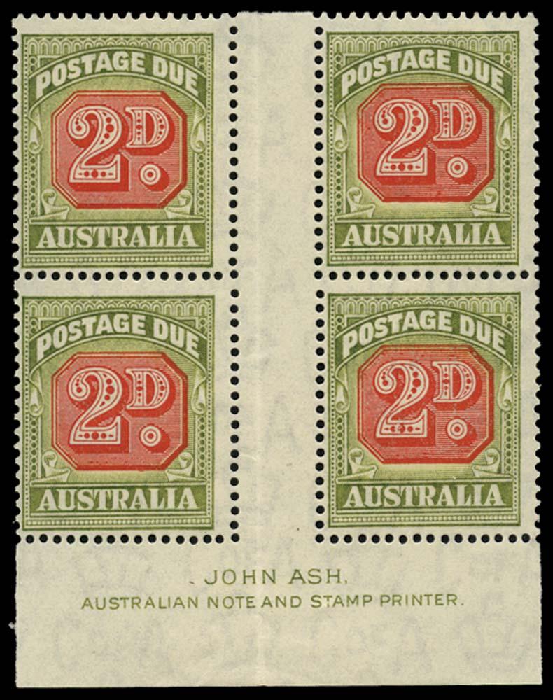 AUSTRALIA 1946  SGD121 Postage Due