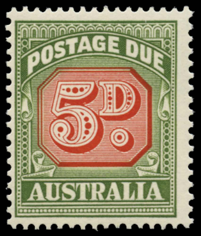 AUSTRALIA 1958  SGD136a Postage Due