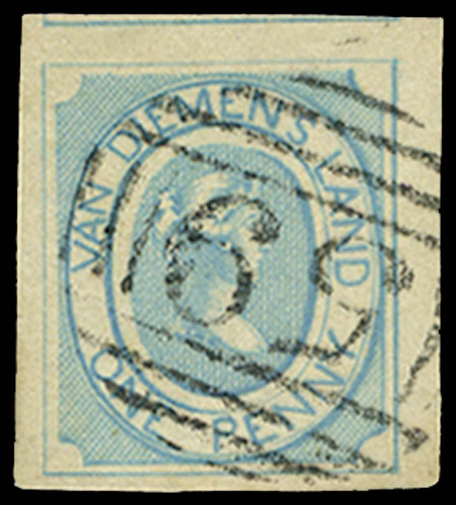 TASMANIA 1853  SG1 Used