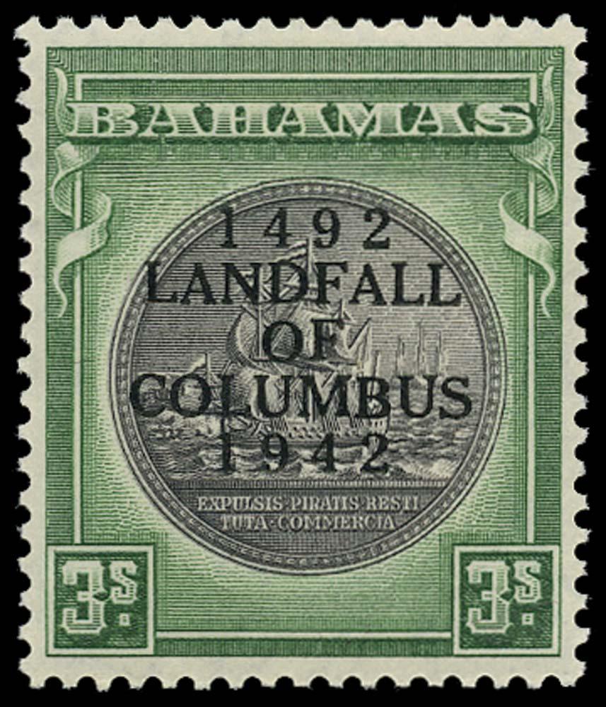 BAHAMAS 1942  SG173a Mint