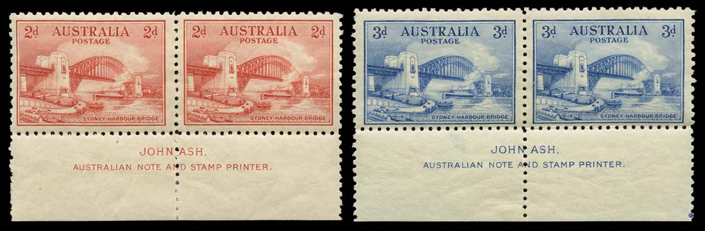 AUSTRALIA 1932  SG141/2 Mint