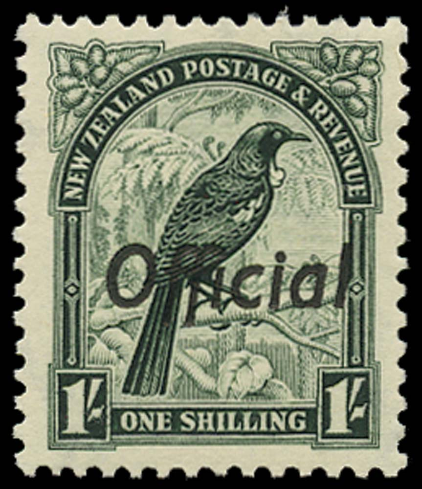 NEW ZEALAND 1937  SGO131 Official