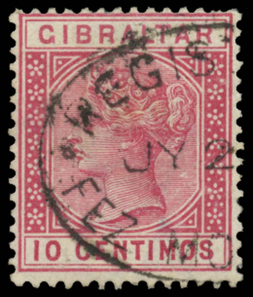 MOROCCO AGENCIES 1889  SGZ32 Cancel