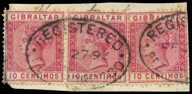 MOROCCO AGENCIES 1889  SGZ32 Cancel