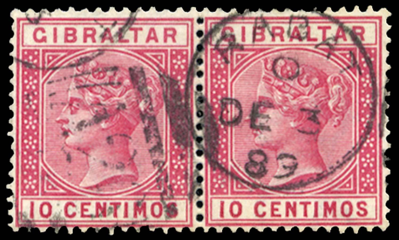 MOROCCO AGENCIES 1889  SGZ106 Cancel