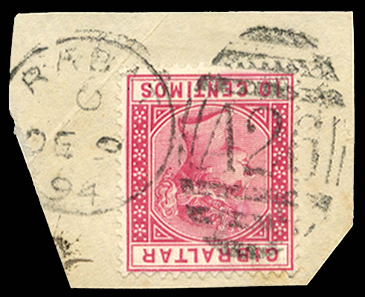 MOROCCO AGENCIES 1889  SGZ106 Cancel