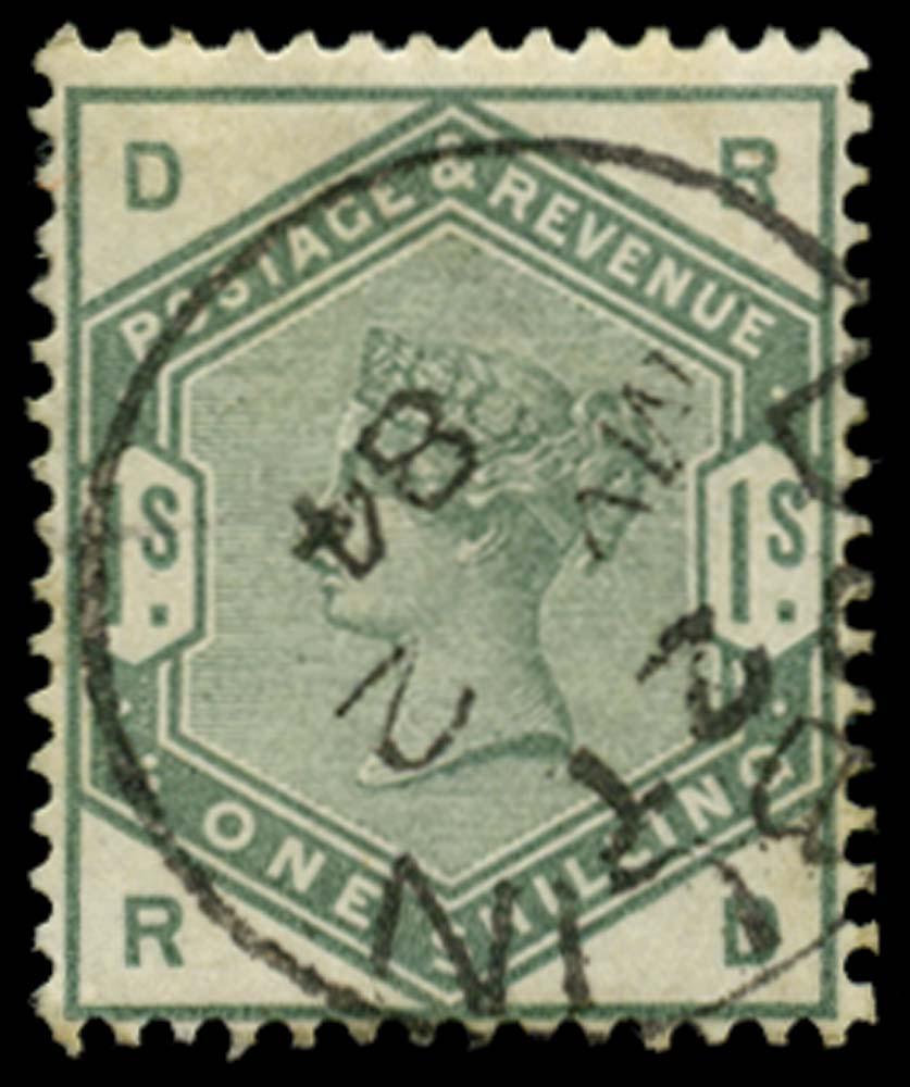 GB 1884  SG196 Used - Dublin cds