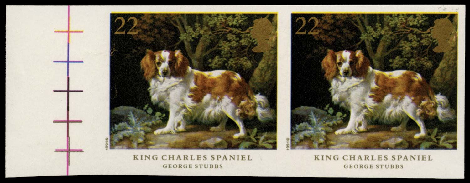 GB 1991  SG1531a Mint - imperforate pair