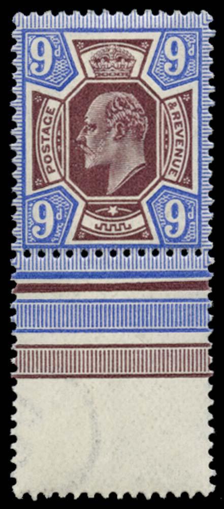GB 1911  SG306a Mint