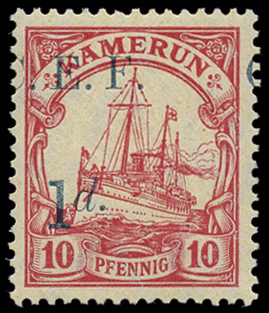 CAMEROON 1915  SGB3var Mint