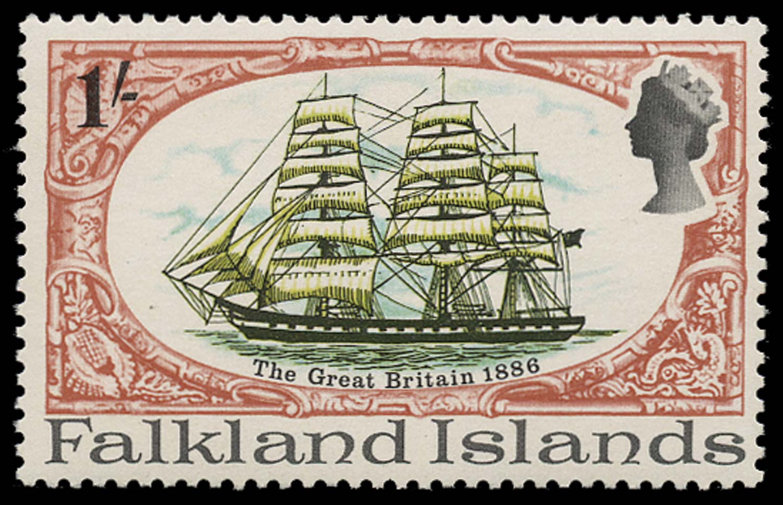 FALKLAND ISLANDS 1970  SG261w Mint