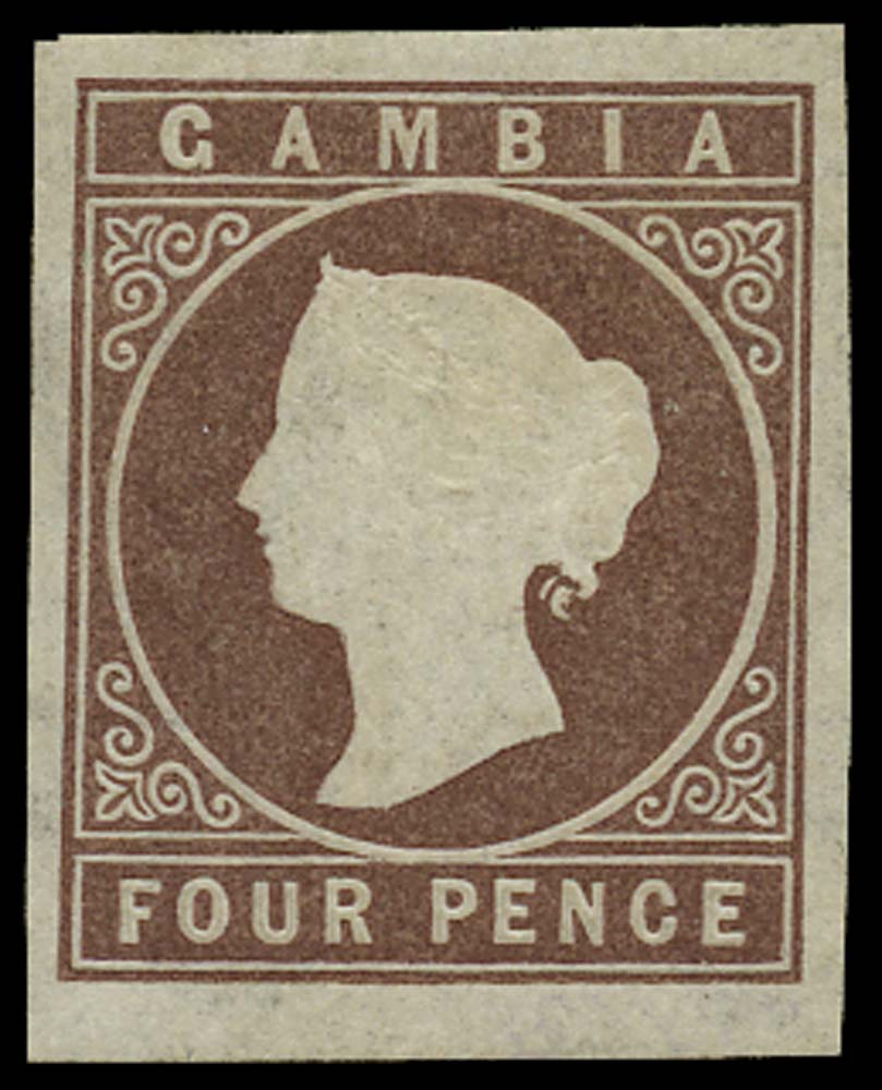 GAMBIA 1874  SG5 Mint