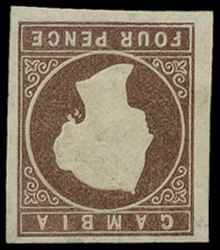 GAMBIA 1874  SG5w Mint