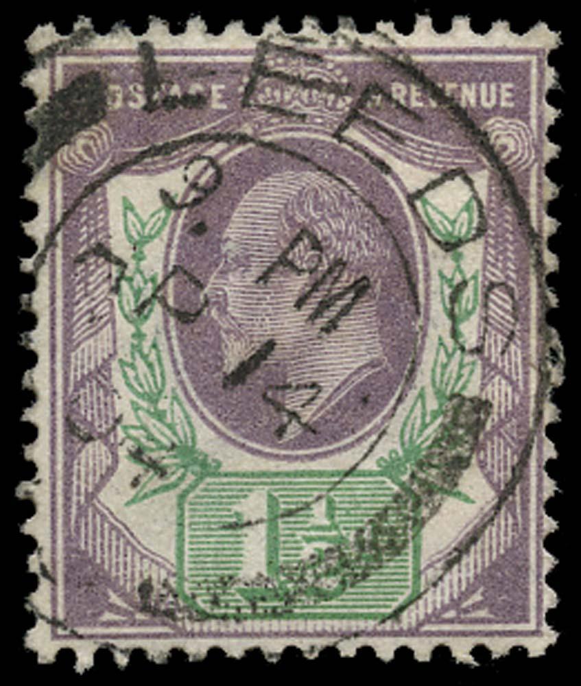 GB 1902  SG221 Used