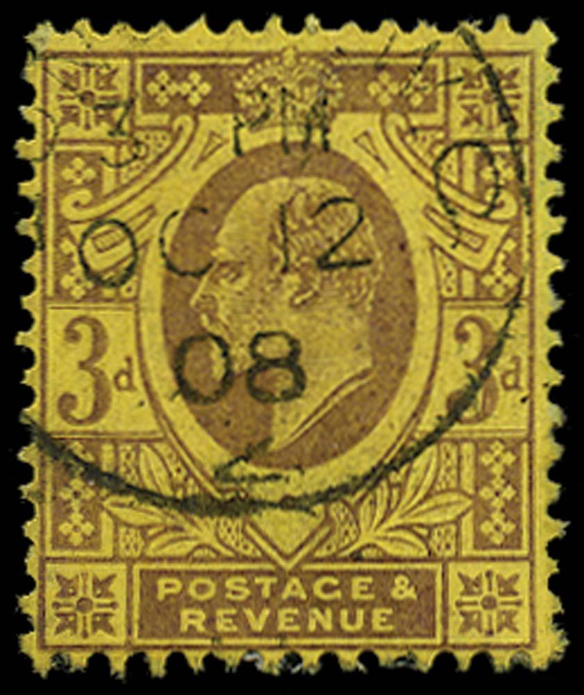 GB 1906  SG232b Used