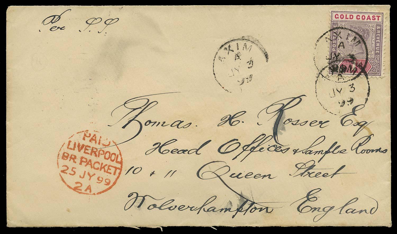 GOLD COAST 1899  SG27 Cover