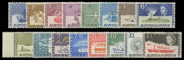 B.A.T. 1963-9  SG1/15a Mint