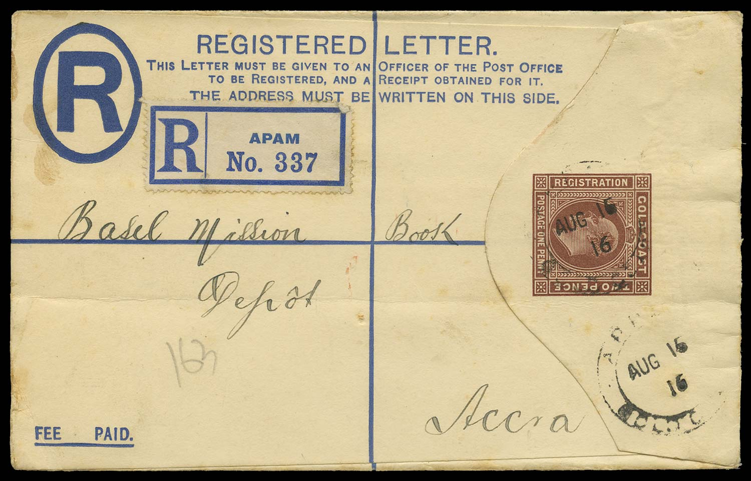 GOLD COAST 1916 Cover
