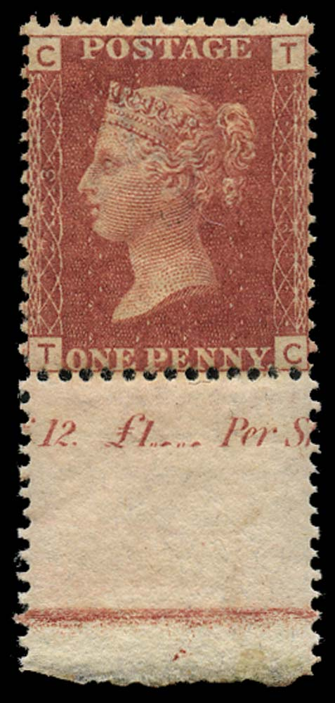 GB 1879  SG43 Pl.223 Mint u/m