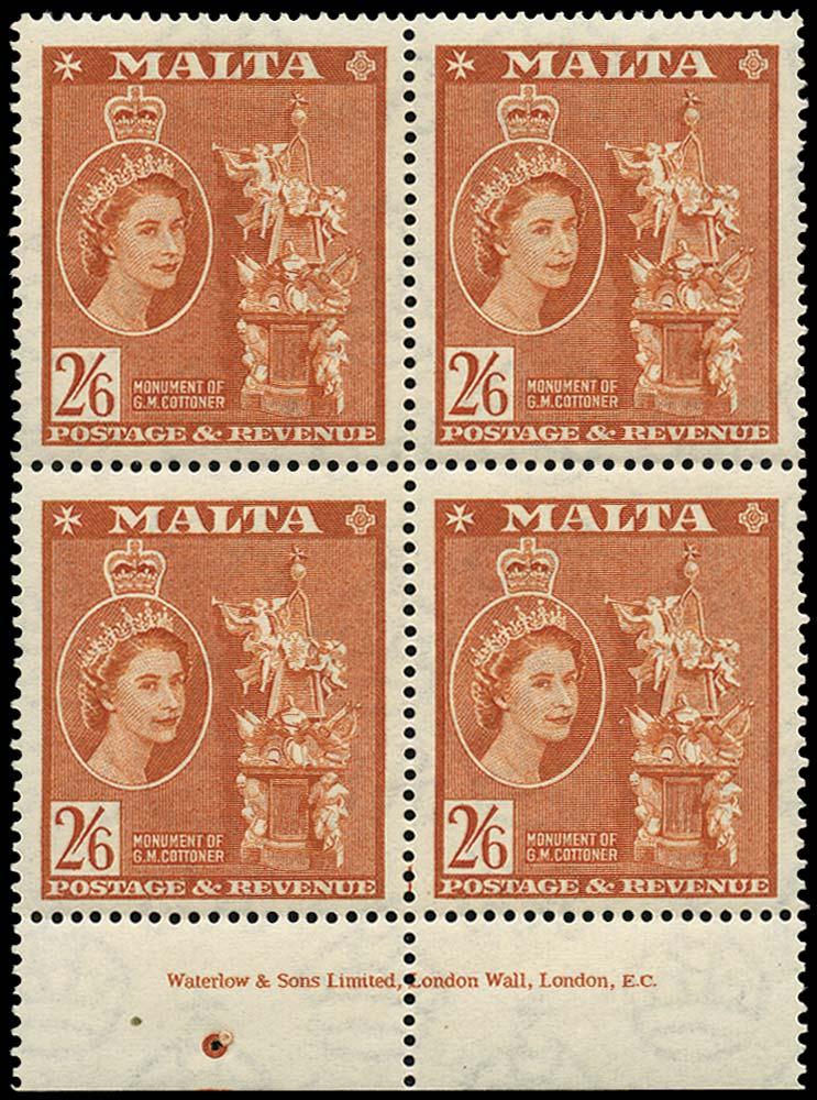 MALTA 1956  SG279 Mint