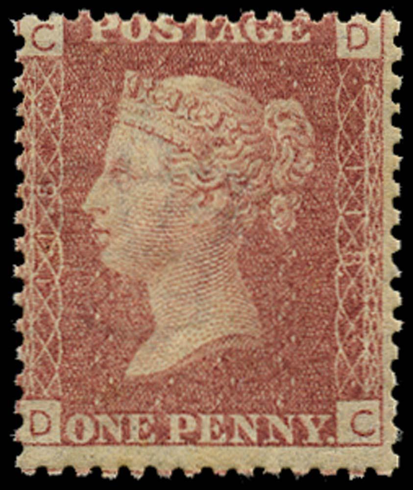 GB 1868  SG43 Pl.118 Mint u/m