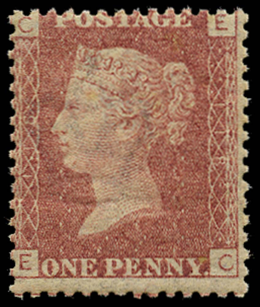 GB 1868  SG43 Pl.118 Mint u/m