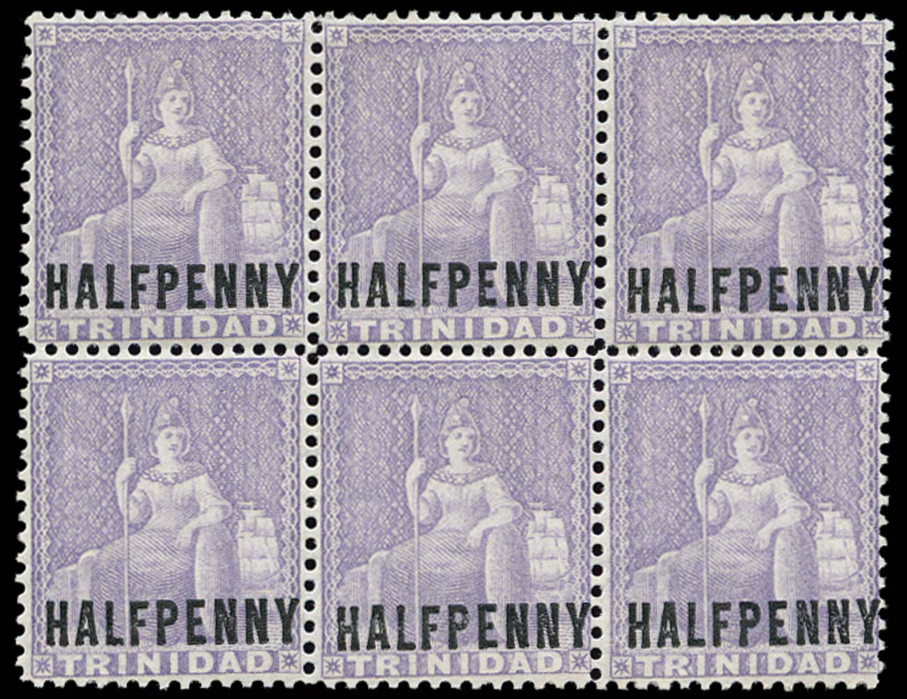 TRINIDAD 1879  SG98x Mint