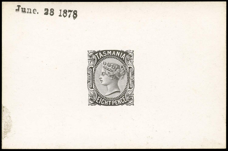 TASMANIA 1878  SG158 Proof