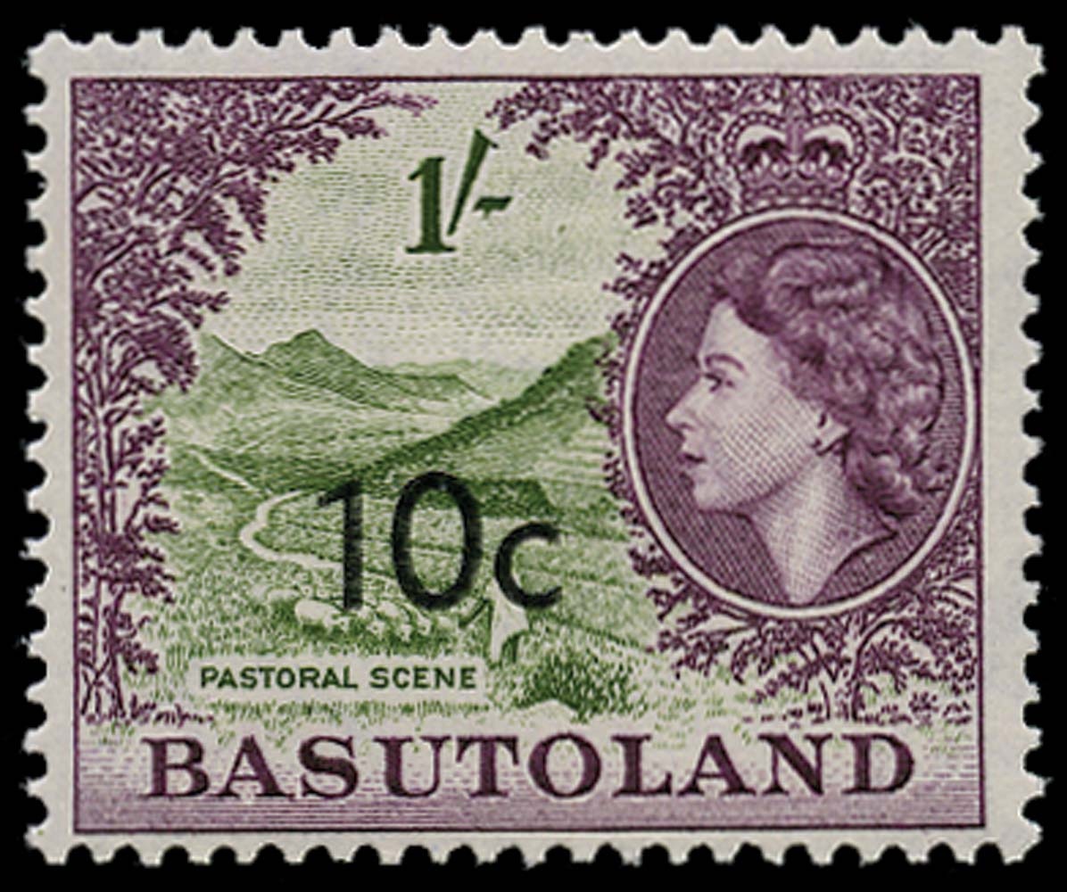BASUTOLAND 1961  SG64a Mint