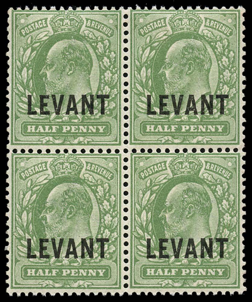 BRITISH LEVANT 1905  SGL11 Mint