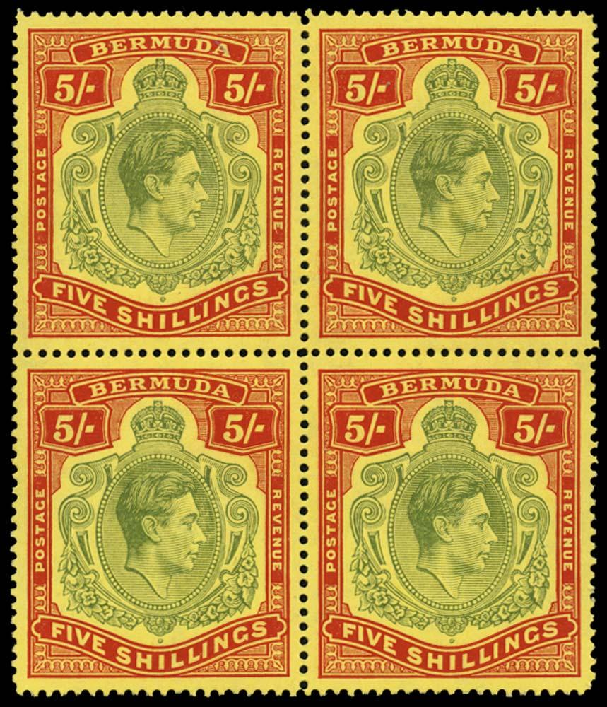 BERMUDA 1941  SG118b Mint