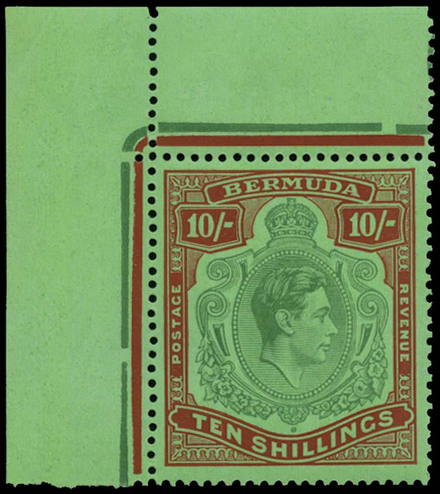 BERMUDA 1937  SG119 Mint