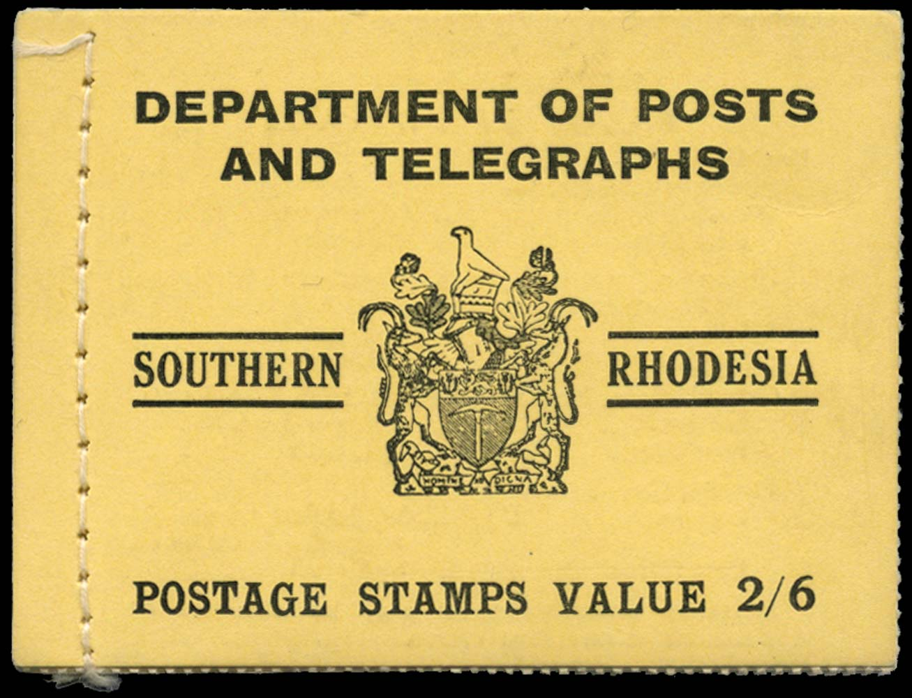 SOUTHERN RHODESIA 1938-45  SGSB4 Booklet
