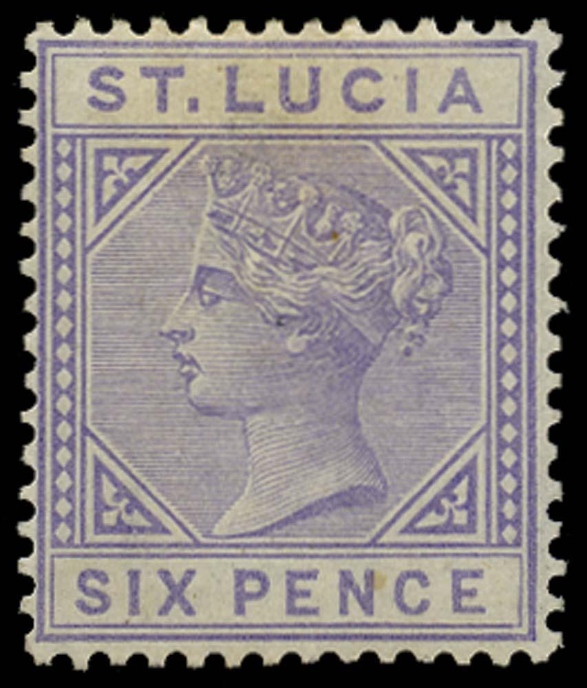 ST LUCIA 1883  SG35 Mint